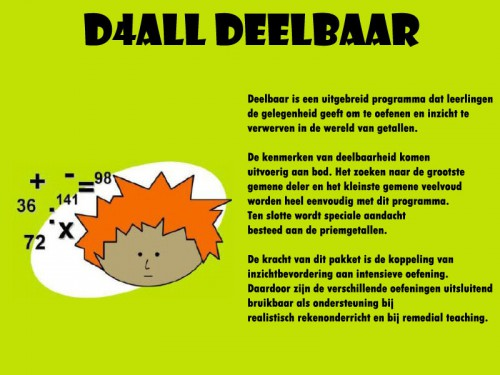 D4ALL Deelbaar -
